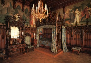 neuschwanstein castle interieur