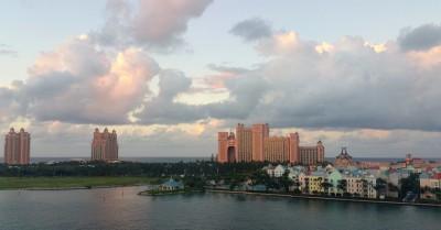 Atlantis au coucher de soleil