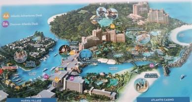 carte d'Atlantis