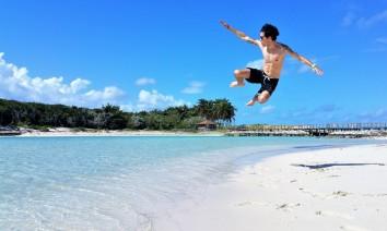Excursion Ile du Paradis Nassau , Bahamas.
