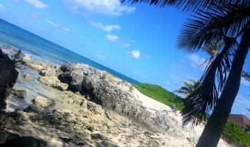 abandon beach in bahamas