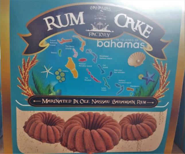 Rum Cake, très bon !