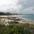 abandon beach in blue lagoon island bahamas