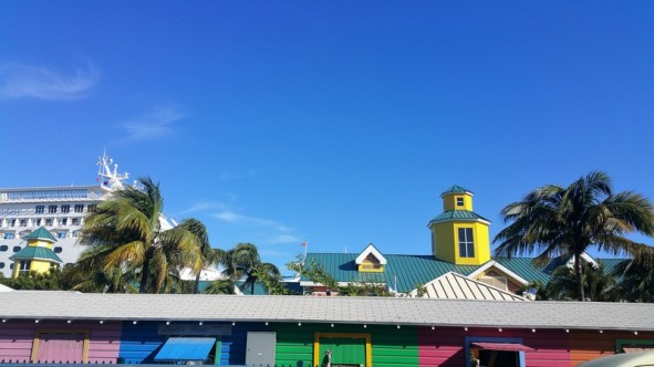La couleur architecturale de Nassau