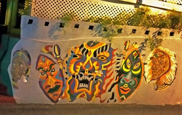 nassau junkanoo tag street in bahamas