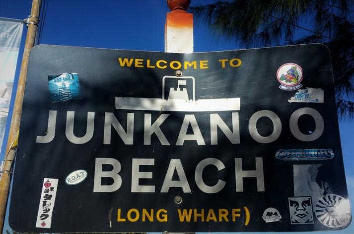 Junkanoo beach, la plage branchée