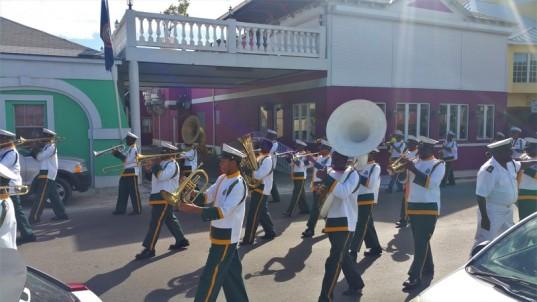 Parade militaire Nassau