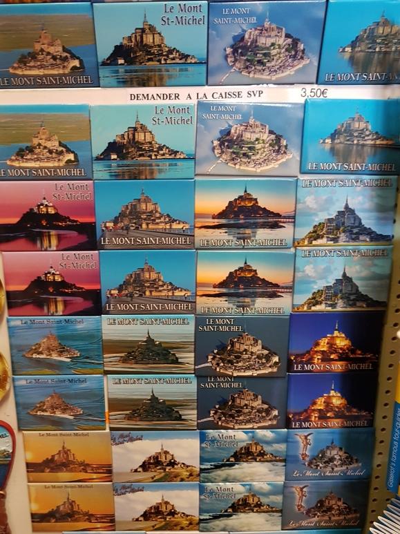 Magnet Mont Saint Michel in France