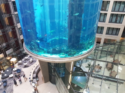 Aquadom Hotel Radisson Blu in Berlin