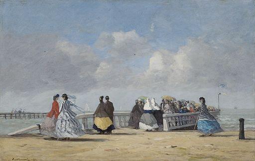 Peinture belle époque de Boudin