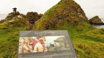 tournage trône de fer en irlande