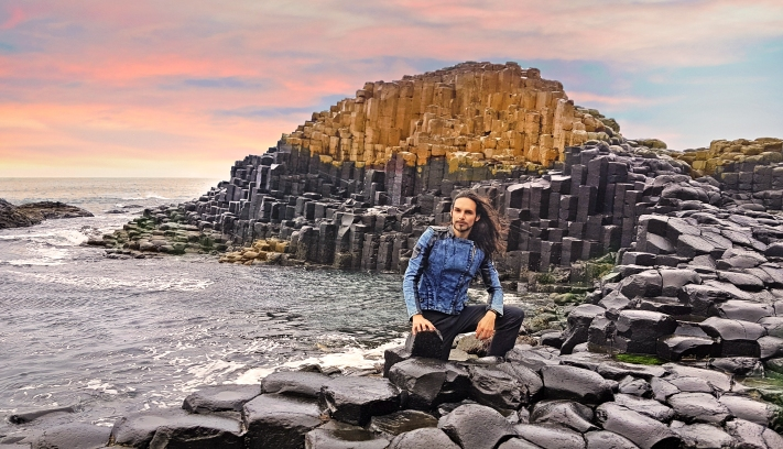 TElombre in Giant's Causeway