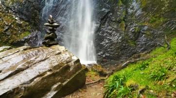 rossignolet waterfall in mont dore
