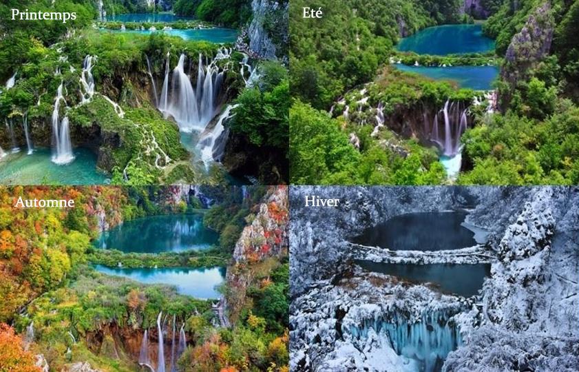 lacs plitvice 4 saisons