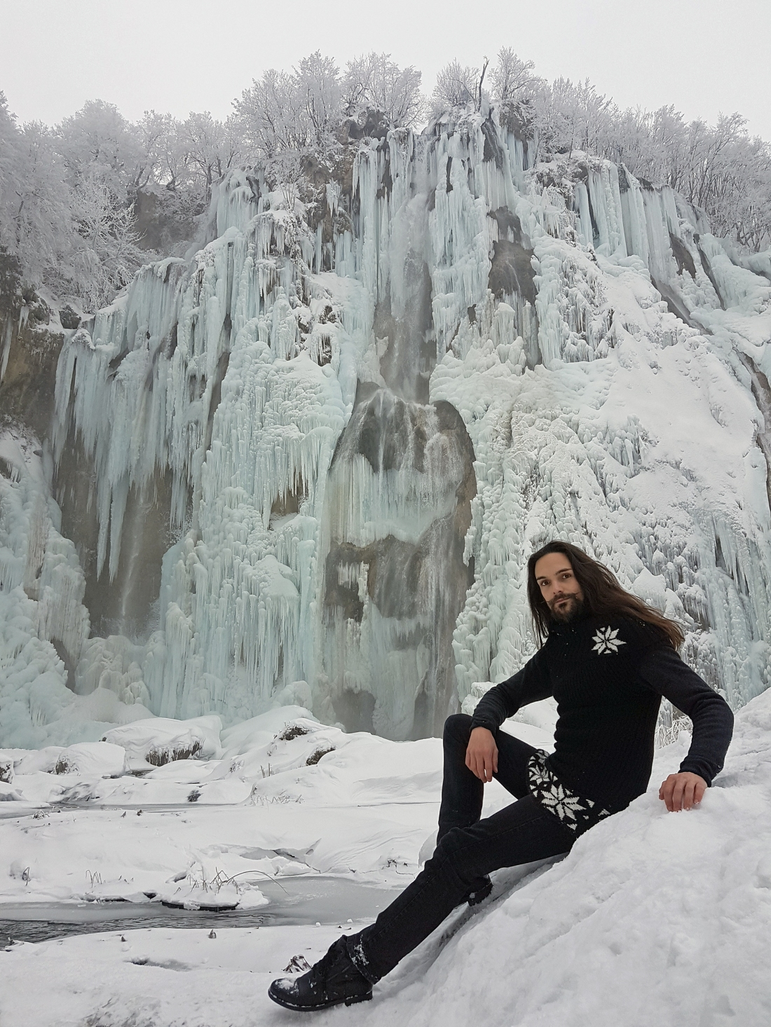 lacs plitvice croatia winter telombre
