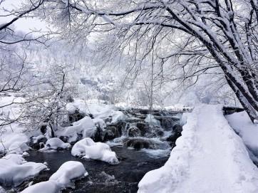 parc national plitvice hiver