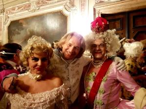 Carnaval de Venise historical costume soirée