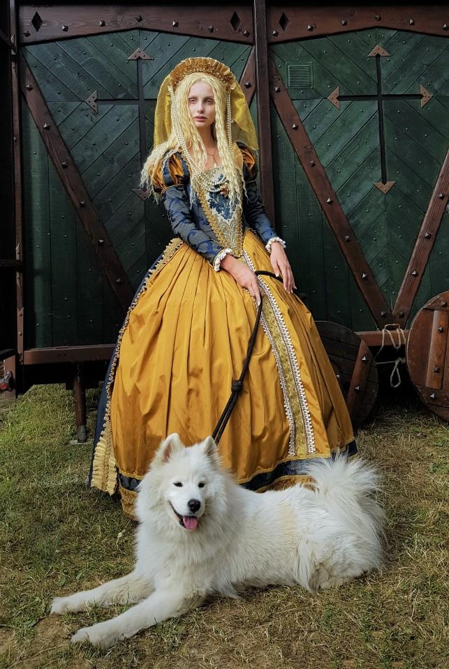 elisabeth II festival de provins