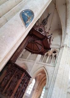 Collégiale Saint-Quiriace interieur
