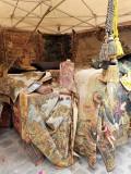 tapis au festival medieval de provins