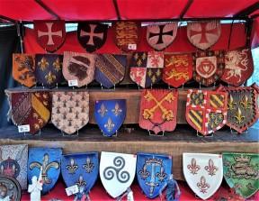 boucliers festival medieval de provins