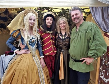 marie romance festival medieval de provins