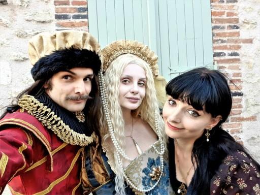 selfie festival medieval de provins