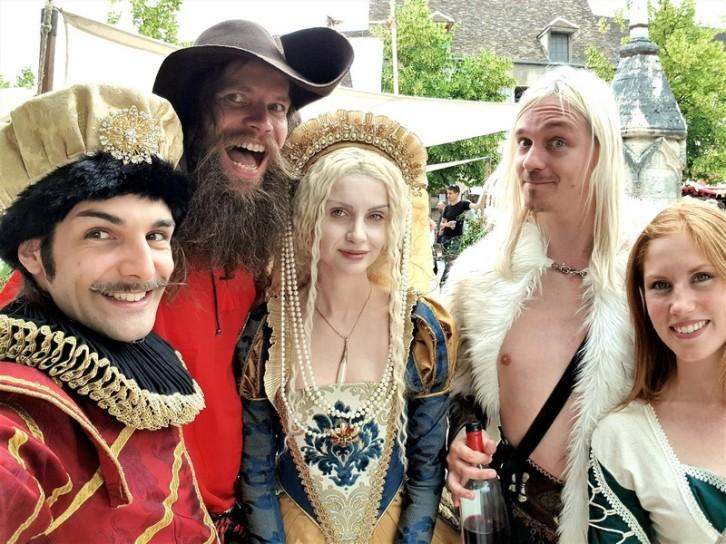 groupes festival medieval de provins