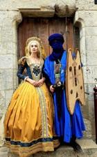 elisabeth II et berber costume festival medieval de provins