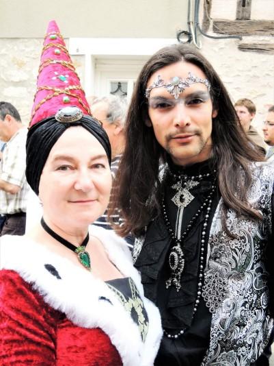 fée et elfe festival medieval de provins