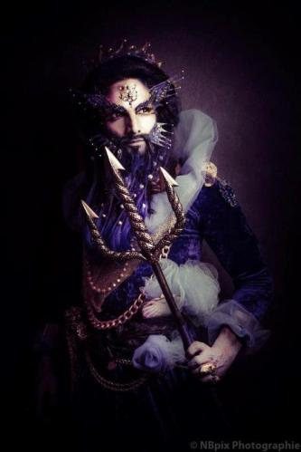 shooting photo Mr Costume poseidon neptune