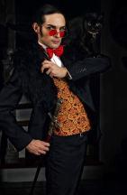 shooting photo Mr Costume black cat