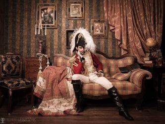 shooting photo Mr Costume napoleon bethier aide de camp