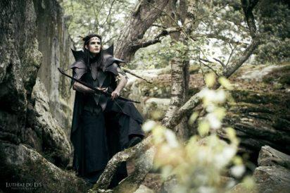 luthiae du lys shooting elfe noir