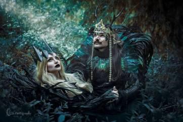 dark gobelins des forêts matea et Mr Costume