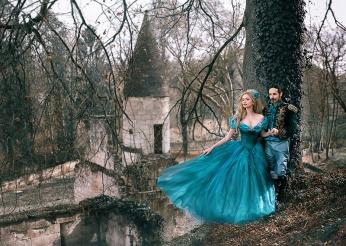 shooting telombre prince et princesse chateau conte de fée