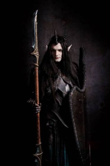 shooting photo telombre dark elfve by warped prod