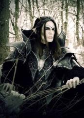 shooting photo Mr Costume viona elfe noir