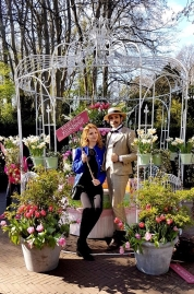 Parc à tulipes de Keukenhof au pays bas