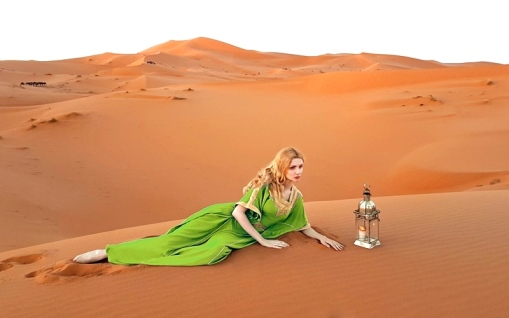 matea fashion shoot luxury desert camp merzouga