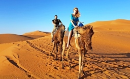 camel ride luxury desert camp merzouga