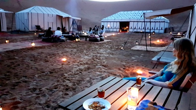 view room luxury desert camp merzouga