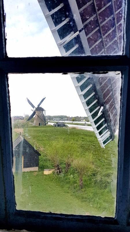 interieur moulin Kinderdjik Zaanse Schans