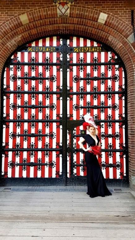 castle red door holland