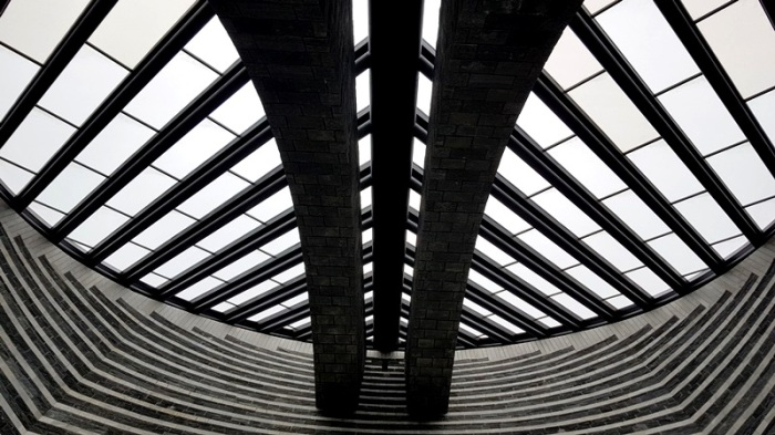 Church Mogno by Mario Botta