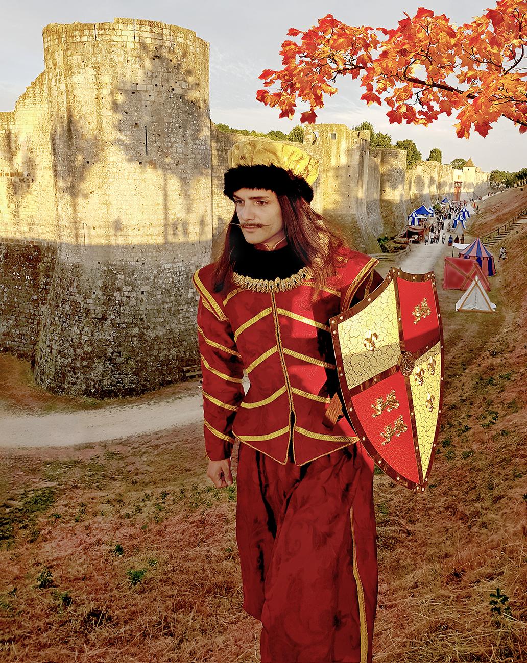 TElombre au Festival Medieval de Provins en renaissance