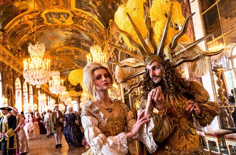 chateau de versailles fêtes galantes à la galerie des glaces