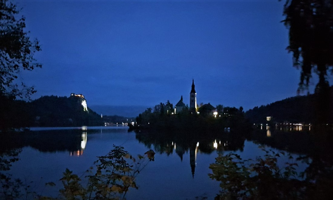 slovenia - bled night