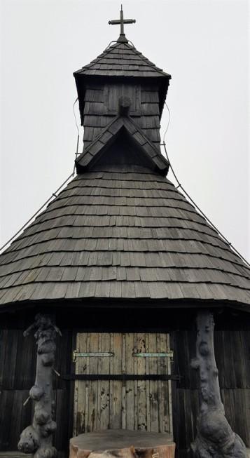 chruch in Velika Planina Slovenia