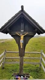 religious Traditional village montagne Velika Planina Slovenia